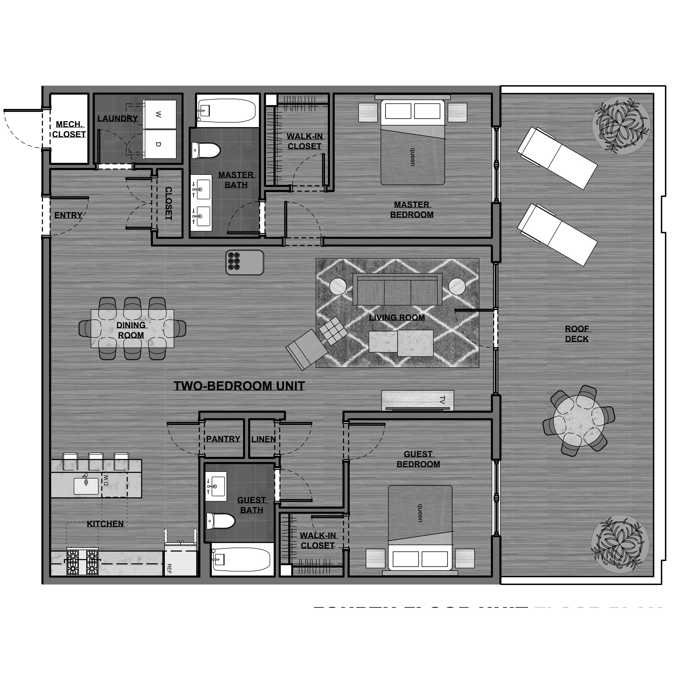 KRAMS 2 bedroom floor plan